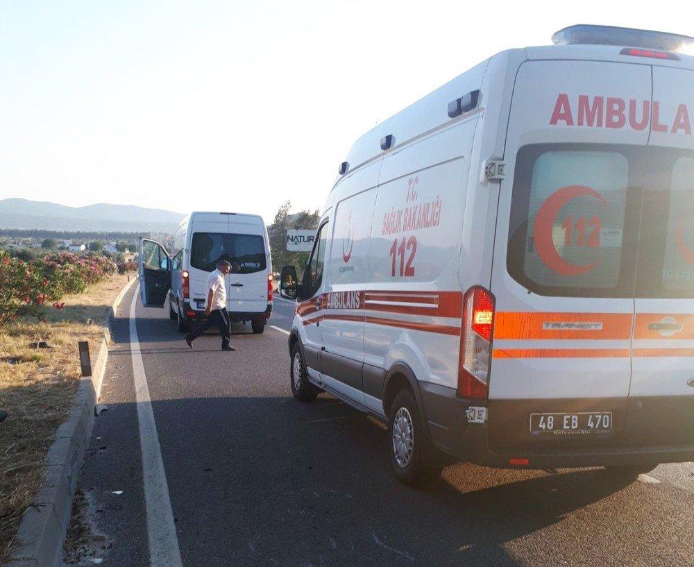 Milas'ta bisiklet sürücüsü feci kazada yaşamını yitirdi