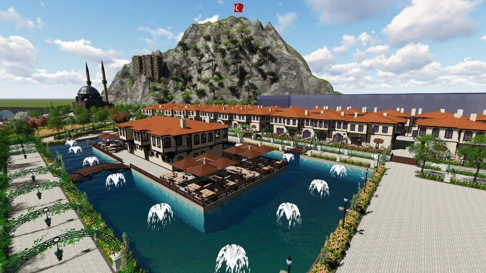 Osmancık kent park projesi start aldı