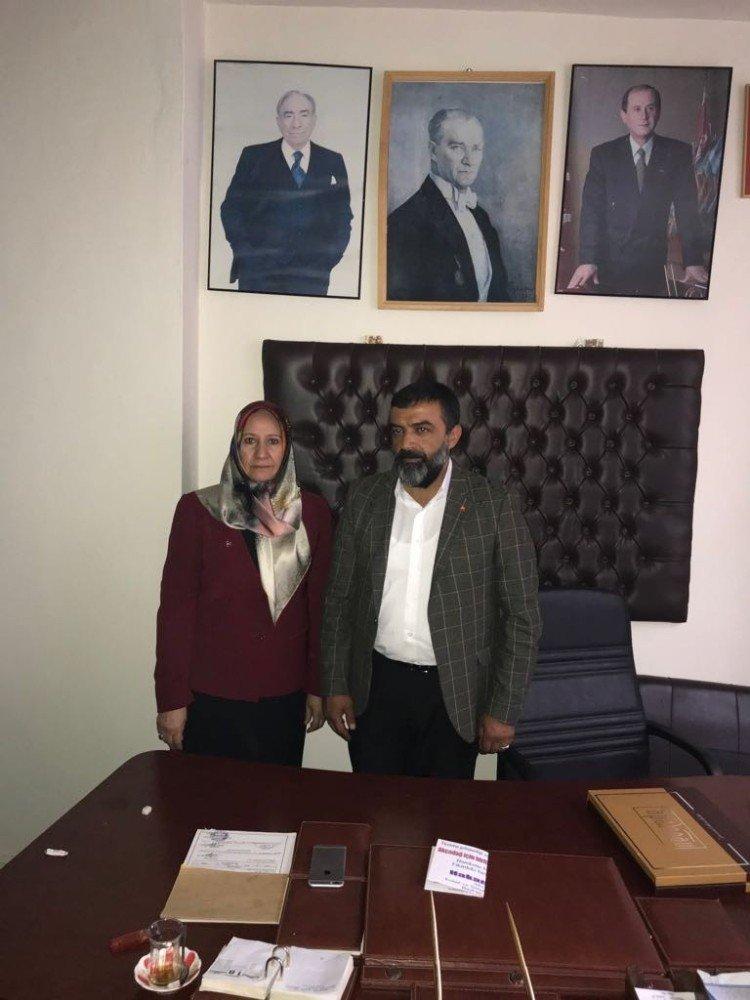 Milletvekili aday adayı Palancıoğlu ziyaretlerine devam ediyor