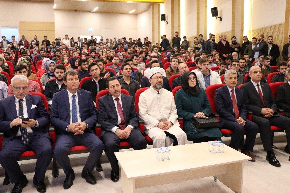 """Diyanet İşleri Başkanı Erbaş: """"Müslümanlar arasında mezhep savaşları çıkartmaya çalışıyorlar"""""""