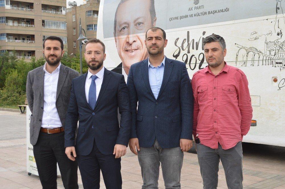 'Şehrim 2023 otobüsü' Mardin'de