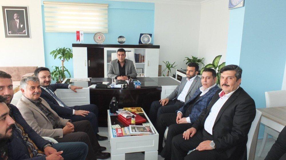AK Parti heyeti Kapadokya Gazeteciler Cemiyetini ziyaret etti
