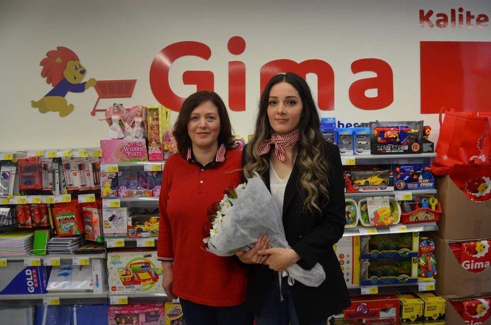 Gima'nın açılışını 'Gima' yaptı