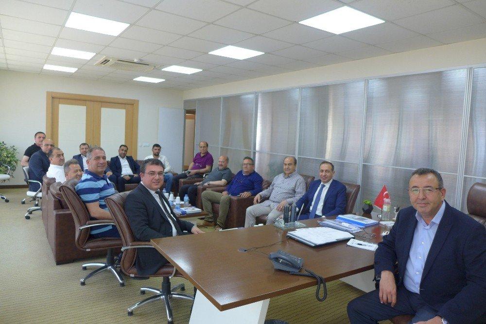 Aydın Büyükşehir Belediyesi'nden KUTO'ya ziyaret