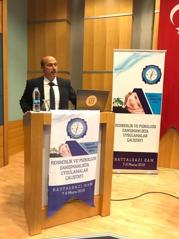 Malatya'da Rehber Öğretmenler Çalıştayı yapıldı
