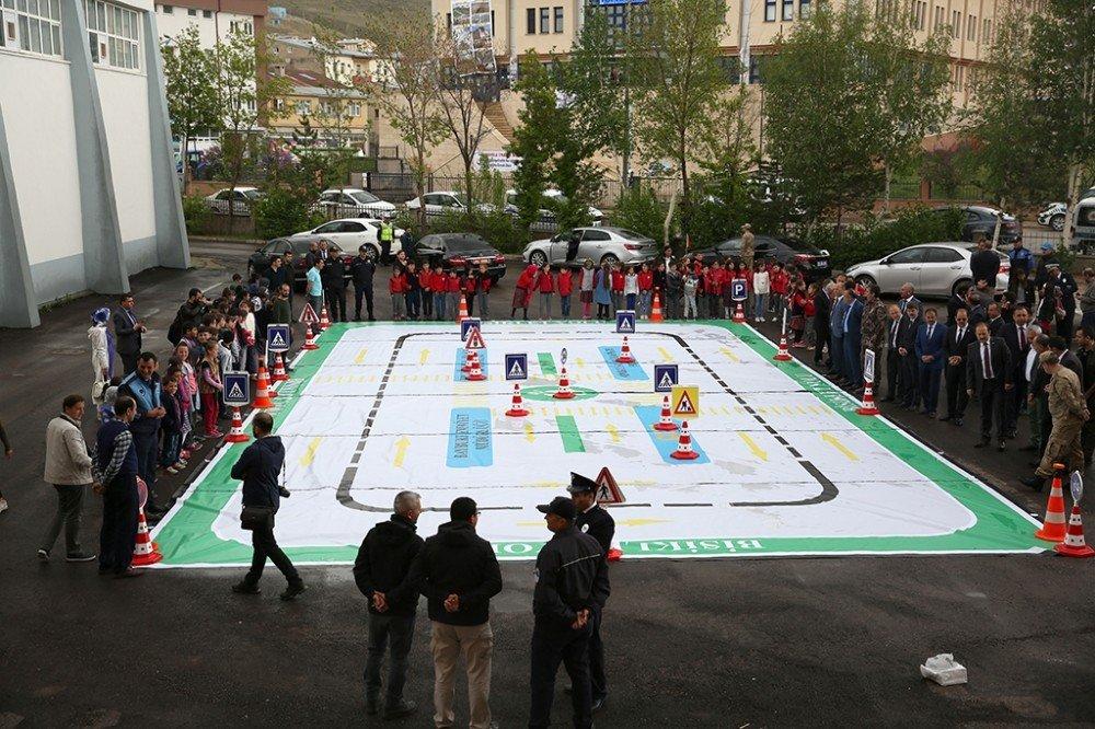 Bayburt'ta Trafik Haftası etkinlikleri