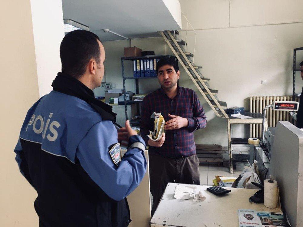 Bitlis polisi kargocuları şüpheli paket hususunda bilgilendirdi