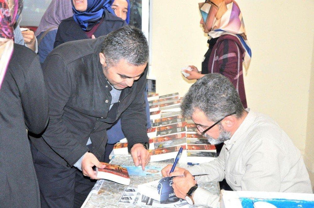 Bitlis'te 'Öğrenci ve Yazar' buluşması