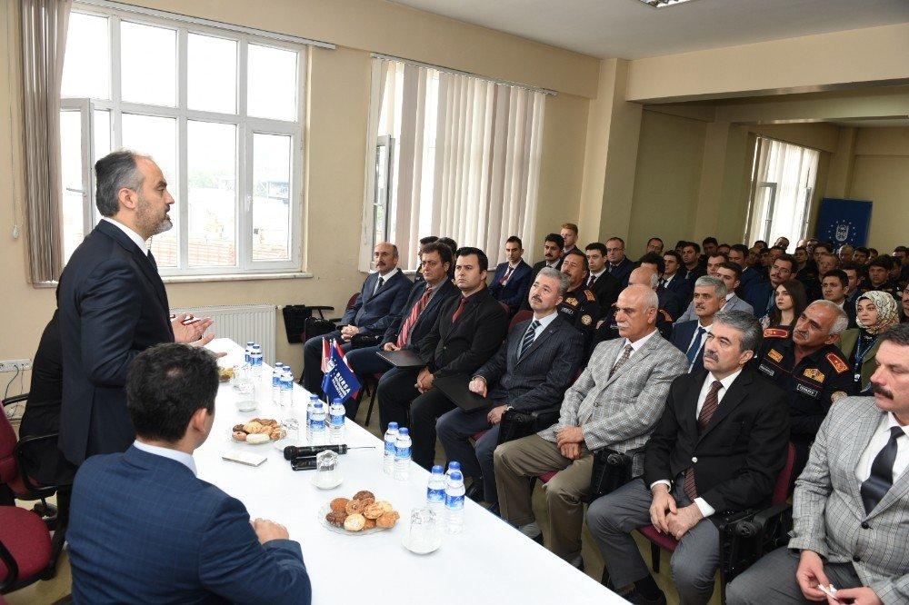 Başkan Aktaş'tan itfaiye komuta merkezine ziyaret