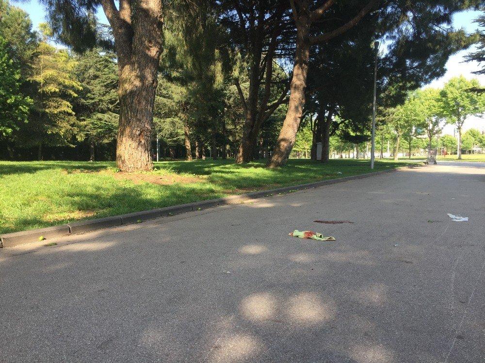 Elektrikli motosikletin çarptığı kadın yaralandı