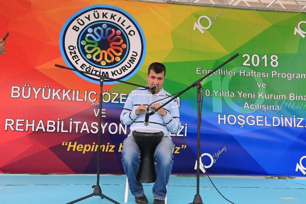 Büyükkılıç Özel Eğitim Kurumundan 'Engelliler Günü' Etkinliği