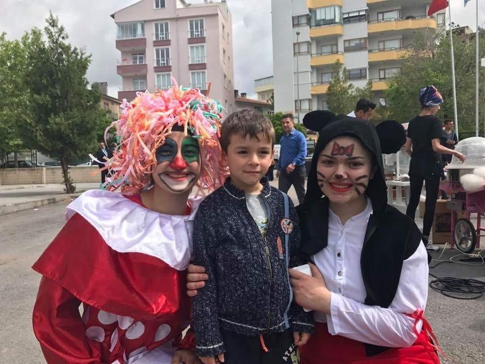Develi'de çocuk oyunları etkinliği düzenlendi