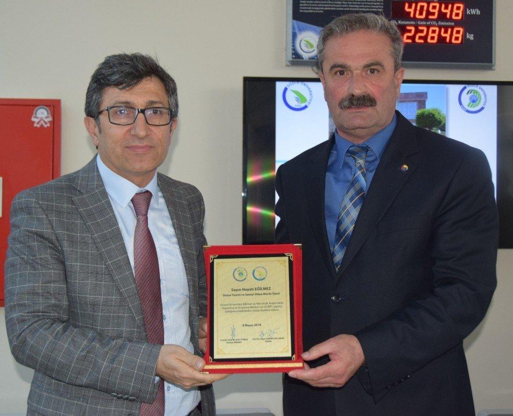 Düzce Üniversitesi'nde MARKA projesi kapanış töreni gerçekleştirildi