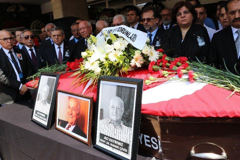Kazada hayatını kaybeden eski rektör için Dokuz Eylül Üniversitesinde tören