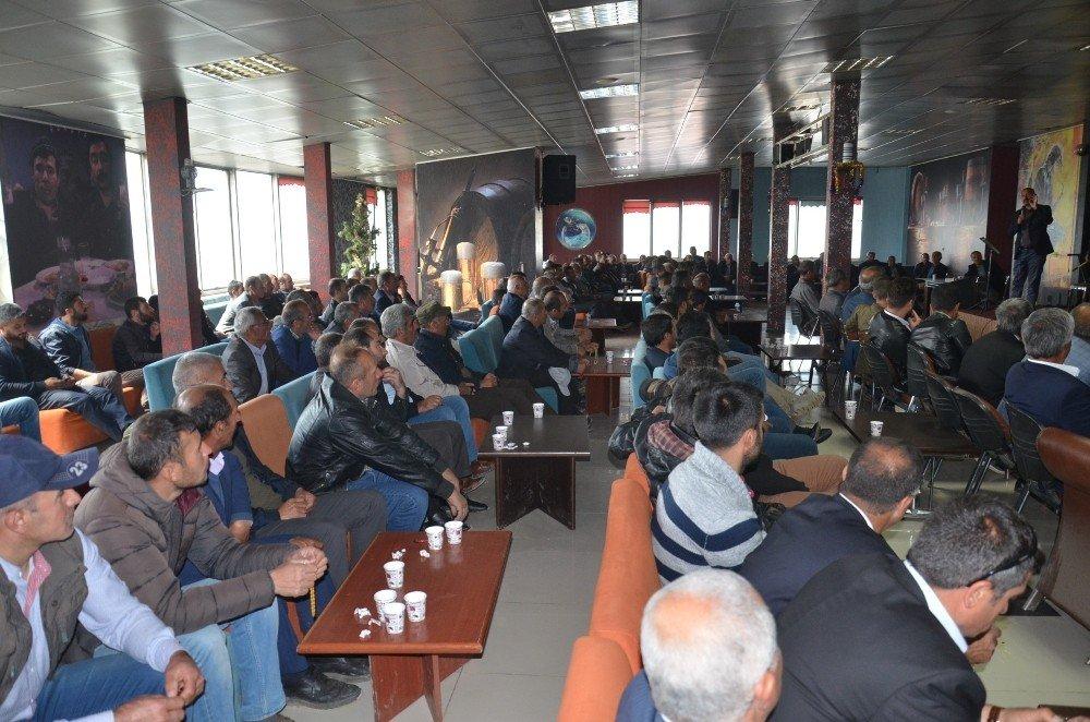 Kooperatif Başkanı Özdemir, üyeleriyle bir araya geldi
