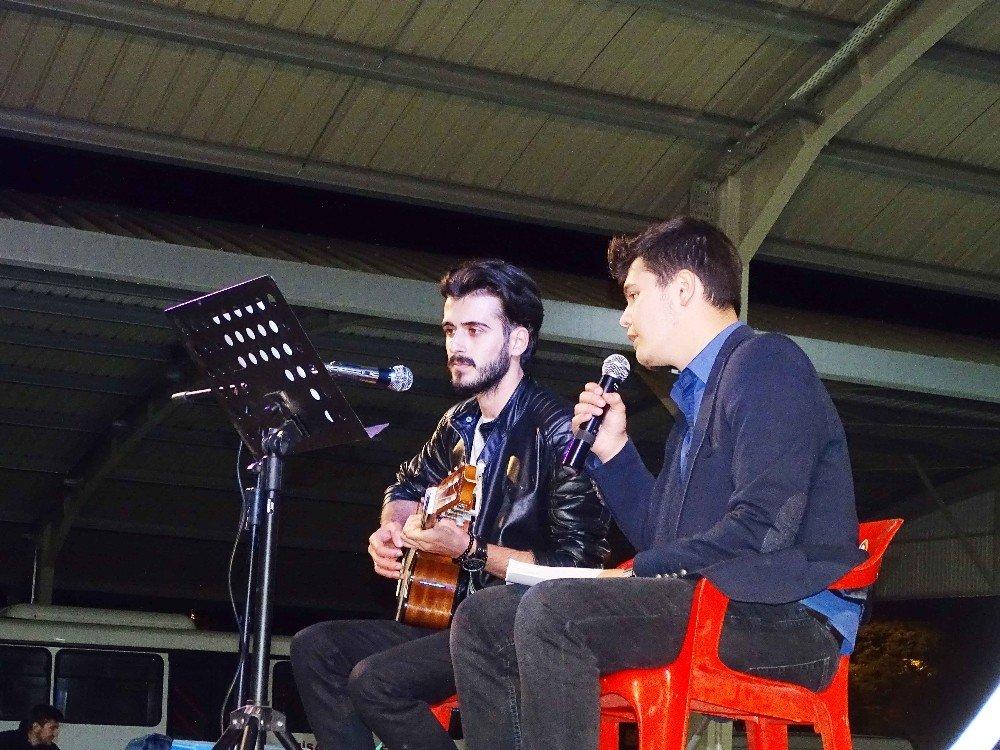 Hisarcık'ta 'Müzik Gecesi'