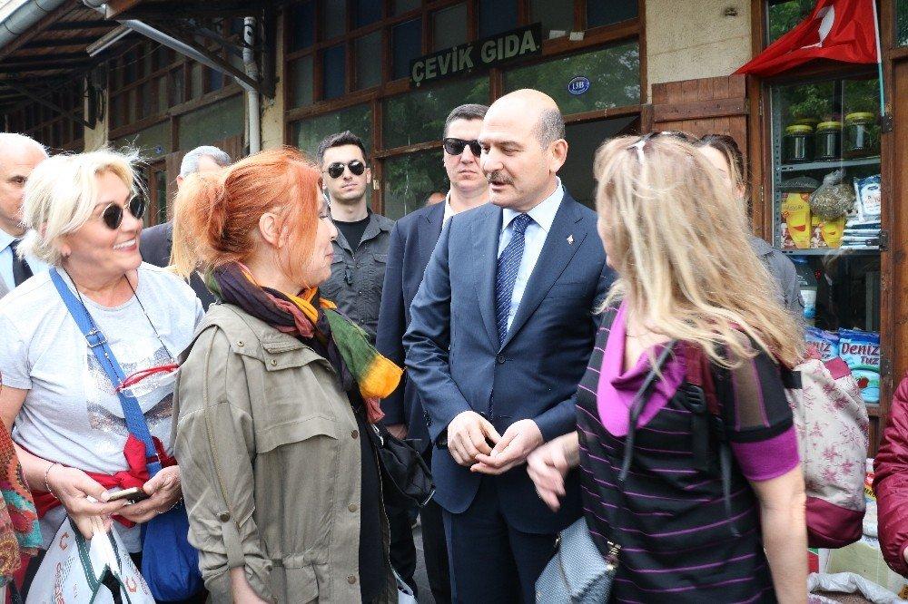 Bakan Soylu Gaziantep esnafını ziyaret etti