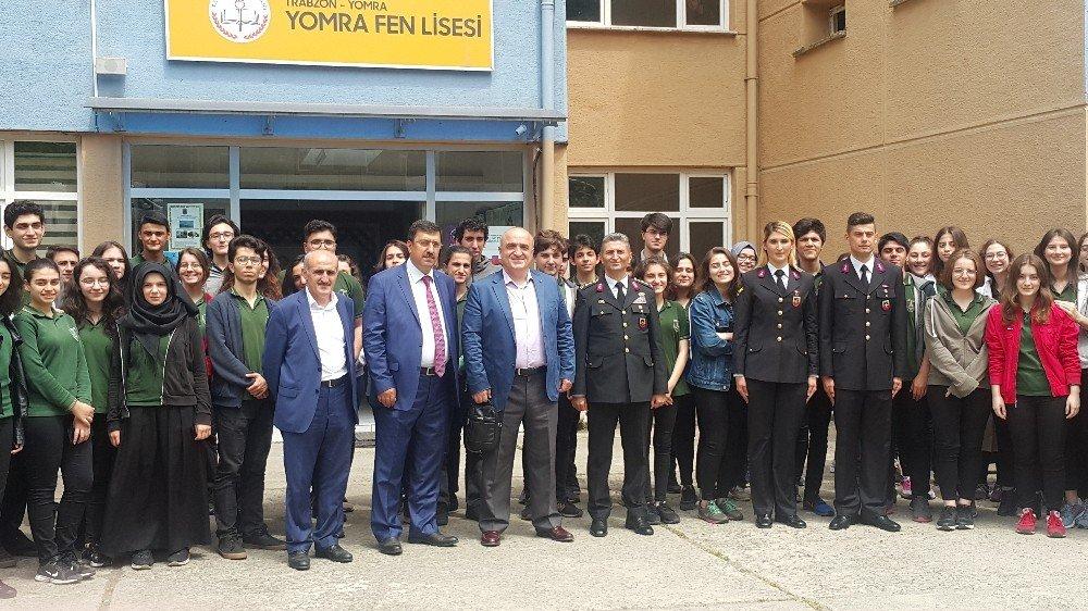 Jandarma ve Sahil Güvenlik Fakültesi Trabzon'daki liselerde tanıtıldı