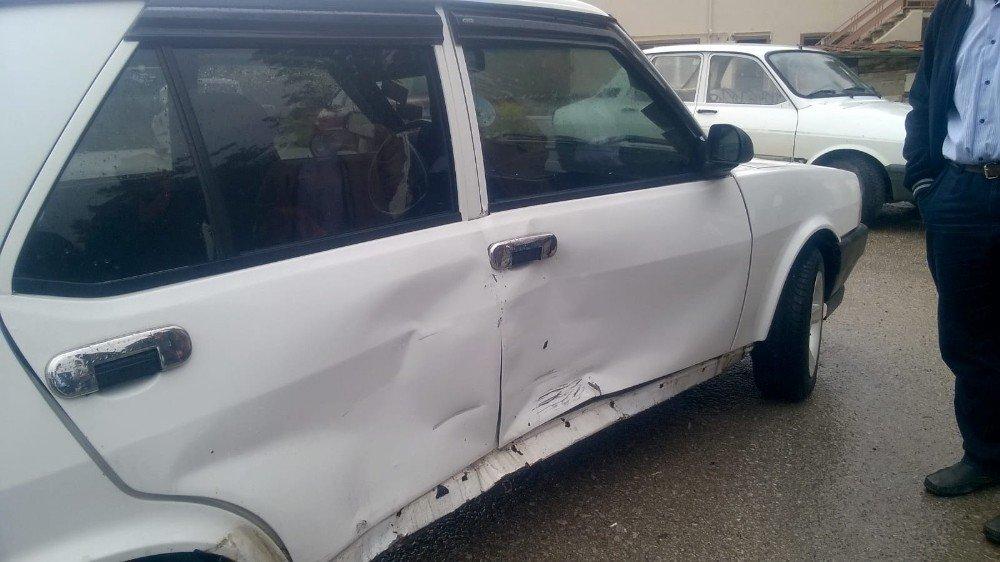 Emet'te trafik kazası: 1 yaralı