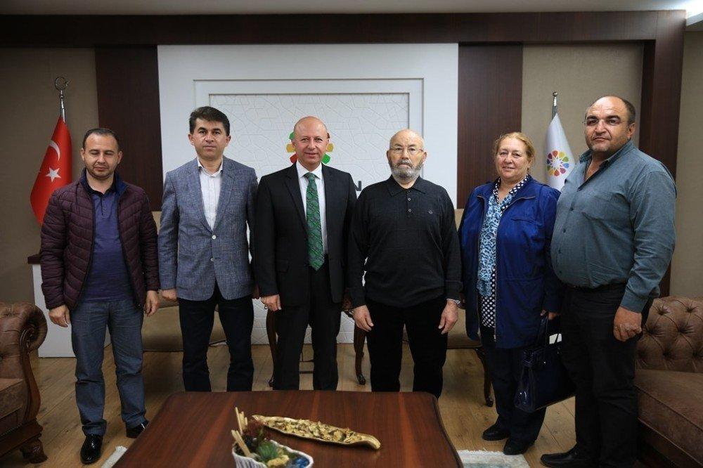 Başkan Çolakbayrakdar, hayırsever iş adamı Osman Ulubaş'ı ağırladı