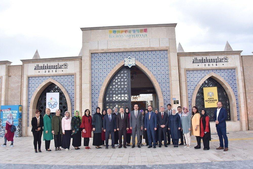 """Başkan Altay: """"KOMEK, Konya sınırlarını aşan bir marka"""""""