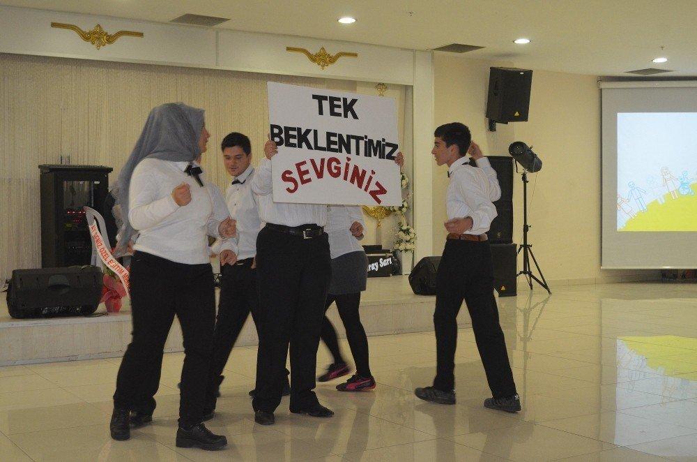 Özel öğrencilerden özel program
