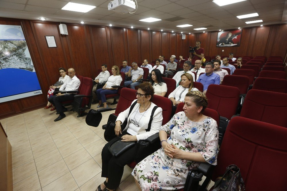 MESKİ'de 'Bilgi Güvenliği Sistemi' tetkiki tamamlandı