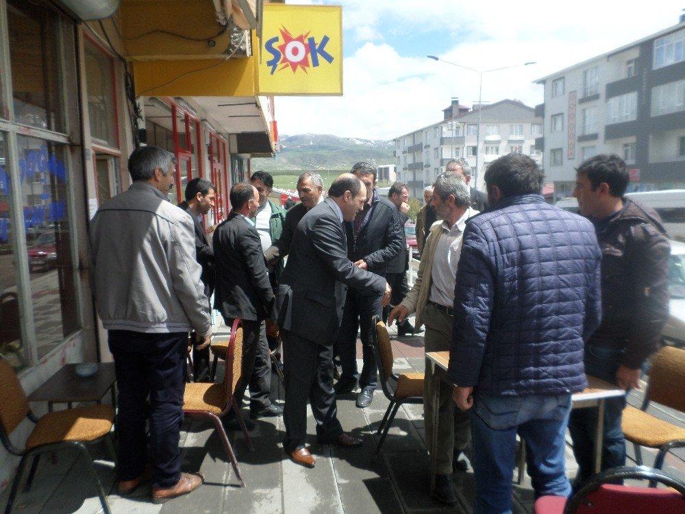MHP Erzurum İl Başkanlığı seçim gezilerine hız verdi