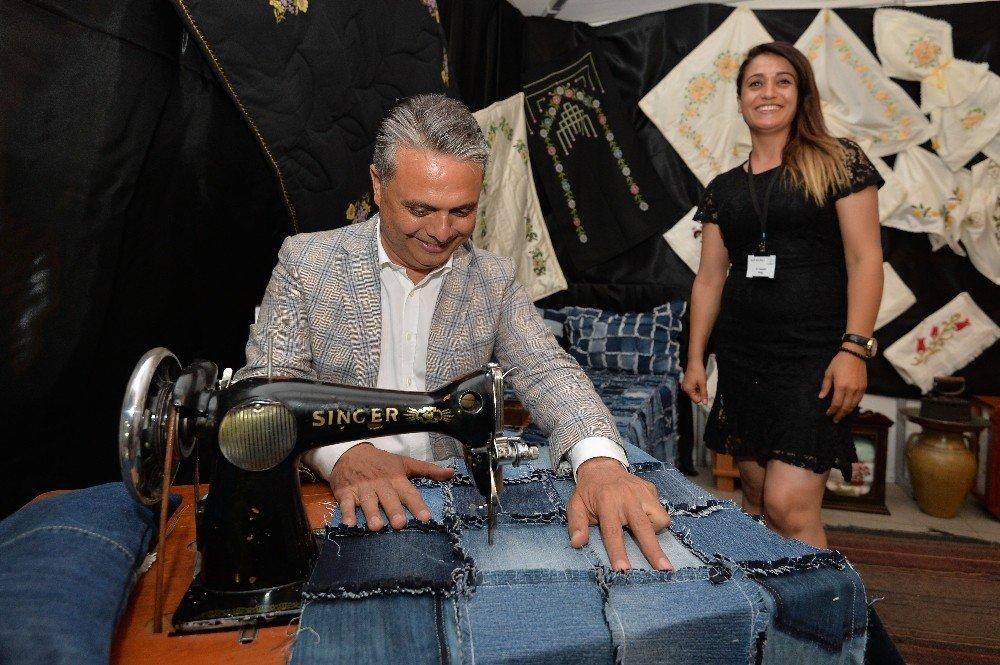 Muratpaşa'da 15 bin el emeği görücüye çıktı