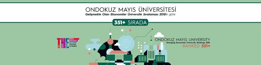 OMÜ, THE Gelişen Ekonomiler Üniversite Sıralamasında ilk kez listede