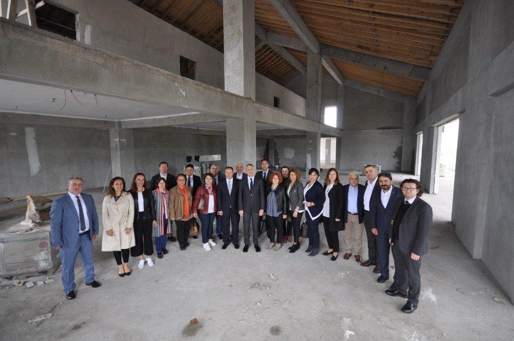 SATSO, Geyve Yöresel Ürünler Üretim Merkezini inceledi