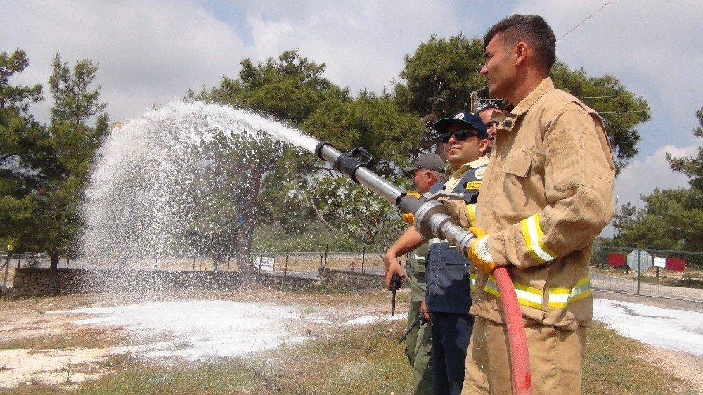 Silifke Orman İşletme Müdürlüğü yangın sezonuna hazır