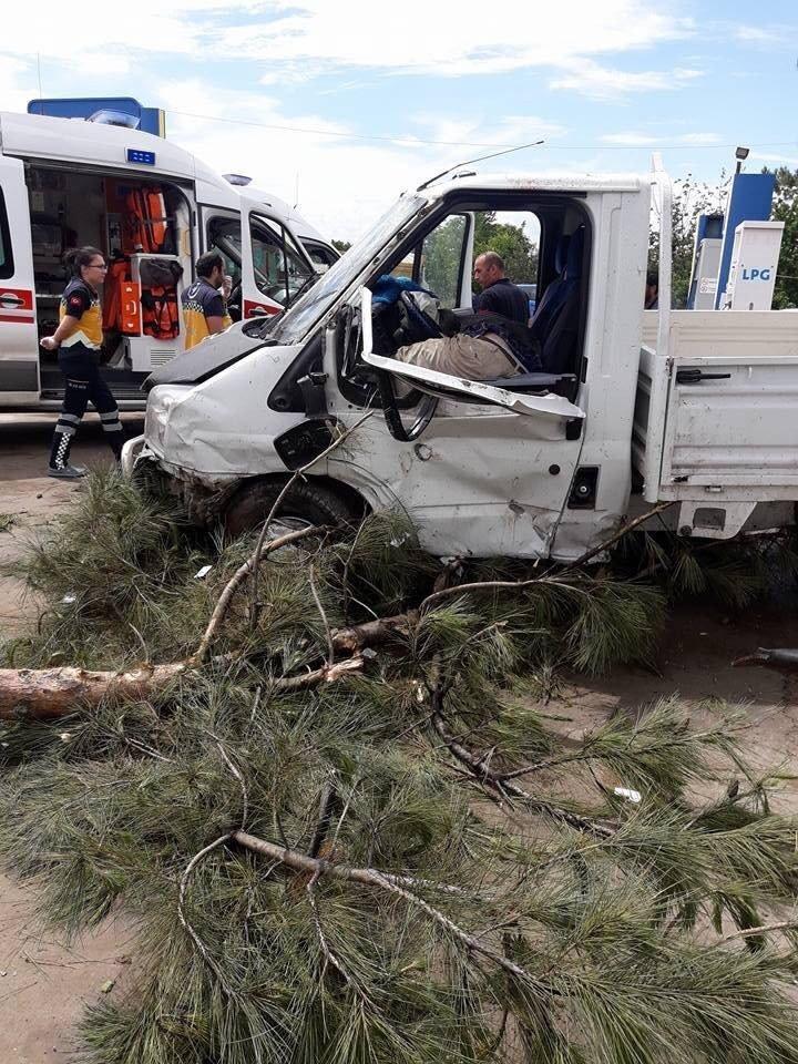 Erbaa ilçesinde meydana gelen kazada 1 kişi öldü