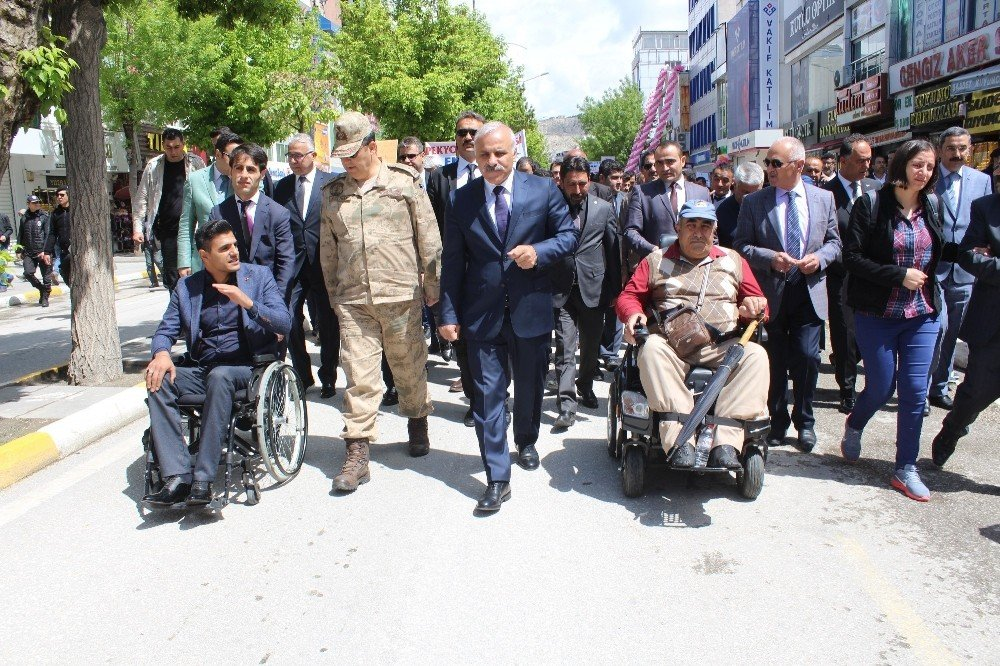 Van'da 'Engelliler Haftası' etkinlikleri