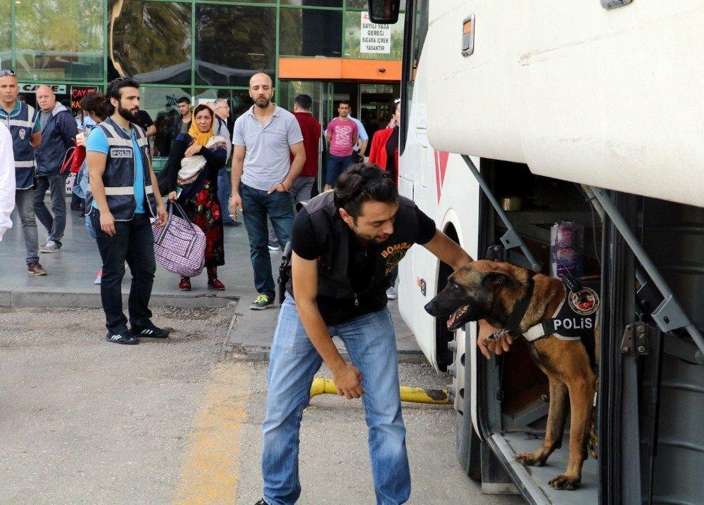 Antalya'da 4 bin polisle 'huzur' operasyonu