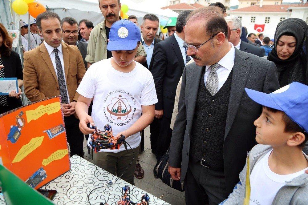 Yozgat'ta Eğitim, Bilim ve Öğrenme Şenliği başladı