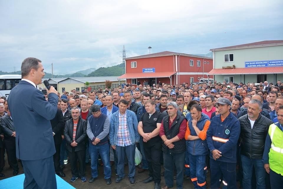 Kdz. Ereğli Belediyesi'nde kadroya geçen işçilere yüzde 8,5 zam