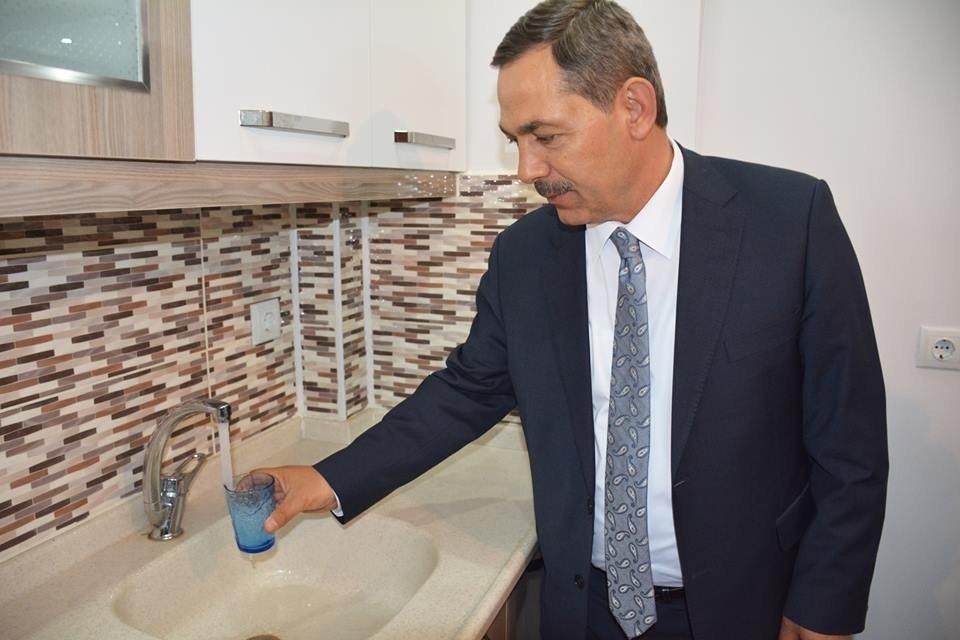 Kdz. Ereğli'de musluklardan arıtılmış su akmaya başladı