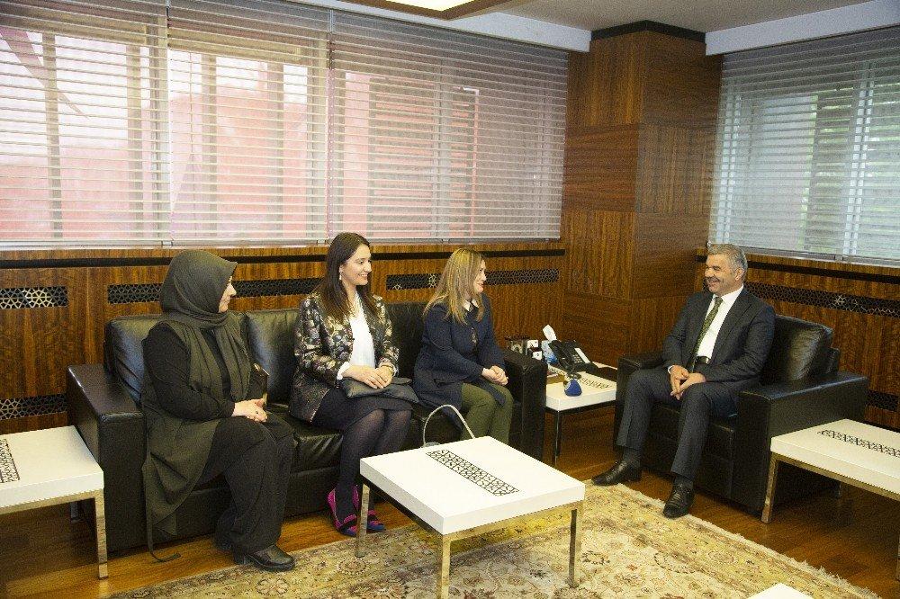 AK Parti Kolları'ndan Başkan Çelik'e ziyaret
