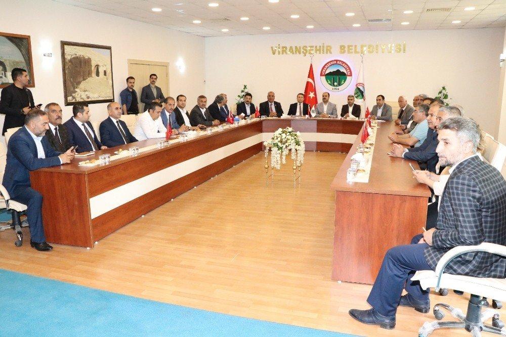 Büyükşehir Belediyesinden Viranşehir'e yatırımlar
