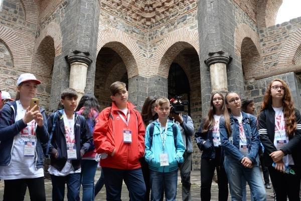 Çanakkaleli 100 öğrenci, Diyarbakır'da