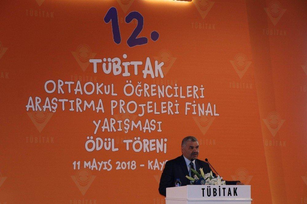 """TÜBİTAK Başkanı Mandal: """"Nitelikli insanlar ile 2023 hedeflerine ulaşacağız"""""""
