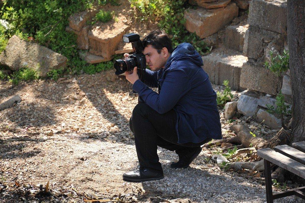 Fotoğrafçılık kursiyerleri en güzel kare için birbirleri ile yarıştı