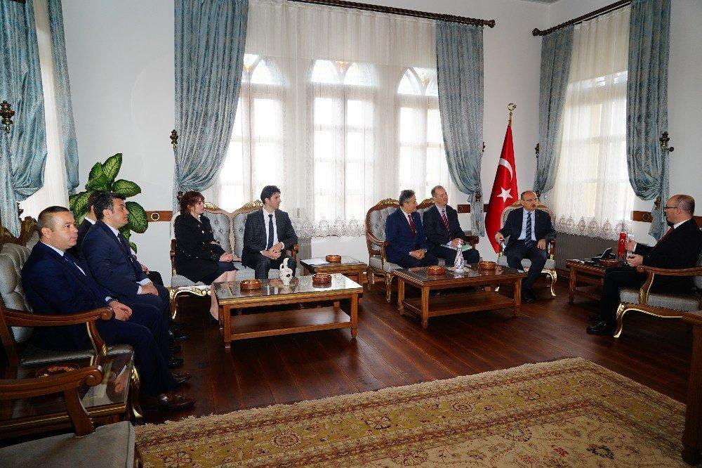 Ekonomi Bakanlığı'nda Kastamonu'da firma ziyareti