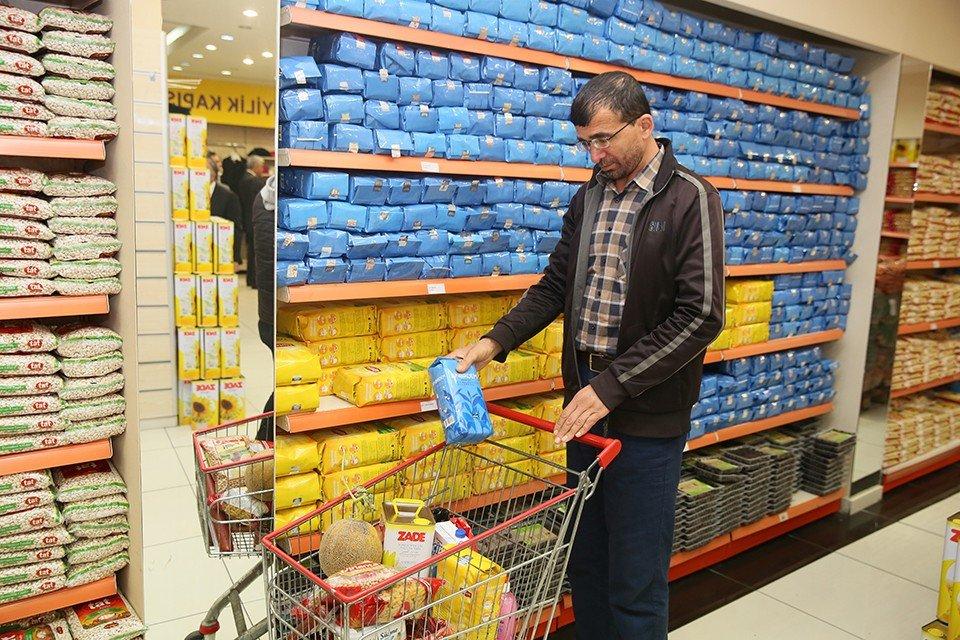İhtiyaç sahibinin Ramazanlığı EDİM Market'ten