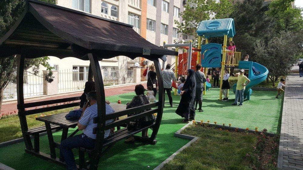 İzmit Belediyesi'nden Azerbaycan'a park