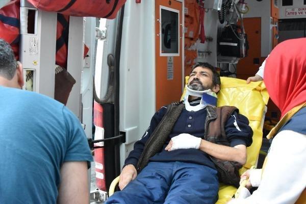Konya'da otomobil kavgası! av tüfeğiyle vurdu