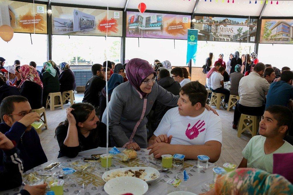 Meram'da Engelliler Haftası etkinliği