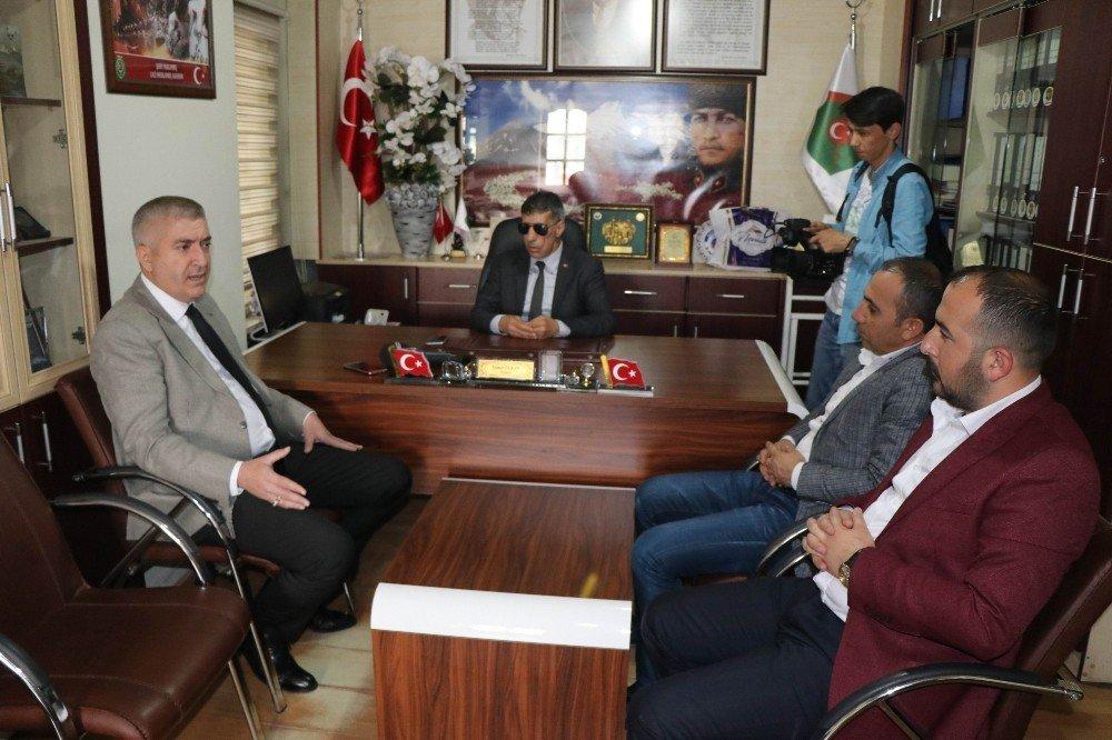MHP İl Başkanı Tok'tan Şehit Aileleri Derneğine ziyaret