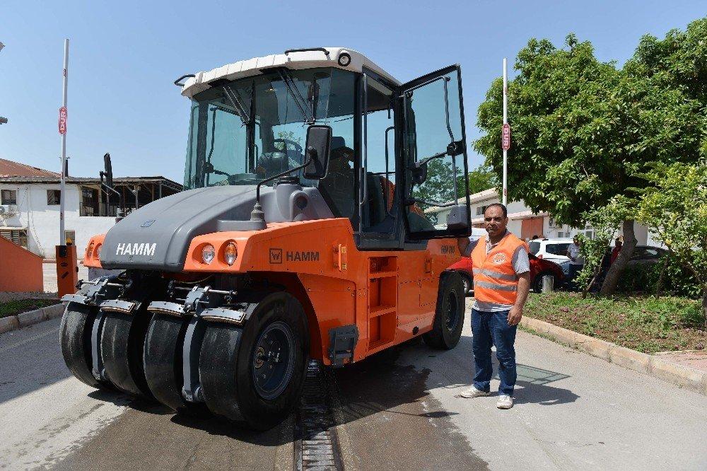 Muratpaşa Belediyesi Makine parkı genişliyor